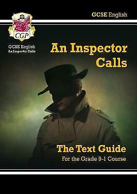 GCSE English Text Guide - An Inspector Calls by CGP Books New For 2017