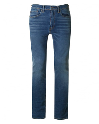 Genuine LEVIS 519 Extreme Skinny Fit stretch Mens Jeans Blue
