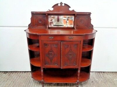 Antique,Edwardian,mahogany? sideboard,cabinet,