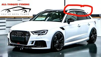 Audi A3 S3 RS3 2013 2014 2015 2016 2017 BLACK Roof Rails Rack Bars Sportback 8V