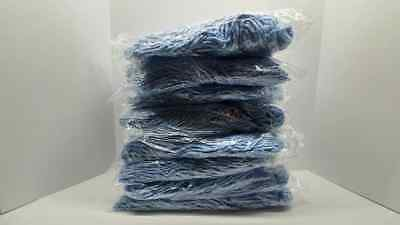 LOT Of (8) Rubbermaid Commercial Dura Pro Mop Heads - 20 oz - Blue - Top Screw