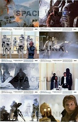 STAR WARS: THE EMPIRE STRIKES BACK Lobby Cards (Series 2) Complete Set of 8