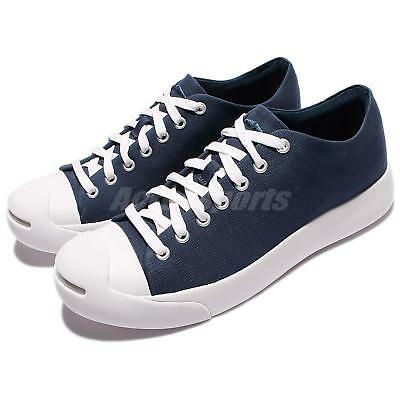 442d99fe2ee2 Converse Jack Purcell Modern Navy White Canvas Men Casual Shoes Sneakers  157370C
