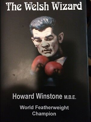 Boxing Book: Howard Winstone The Welsh Wizard By Les Miles Hardback.