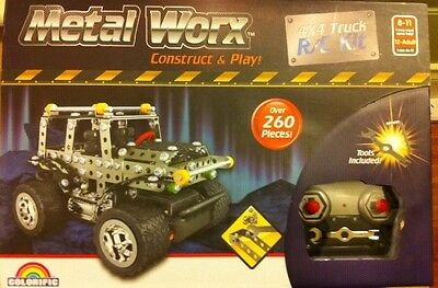 Remote Control 4X4 Truck,construct & Play ! Tools Included ! Fun For All Ages !
