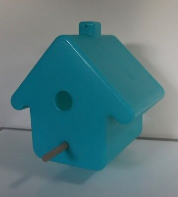bird house blue