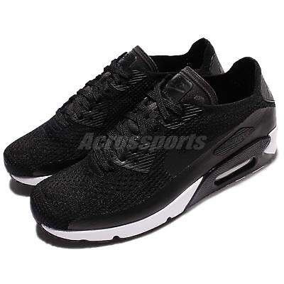 reputable site 54620 8f897 Nike Air Max 90 Ultra 2.0 Flyknit Black White Mens Running Shoes 875943-004