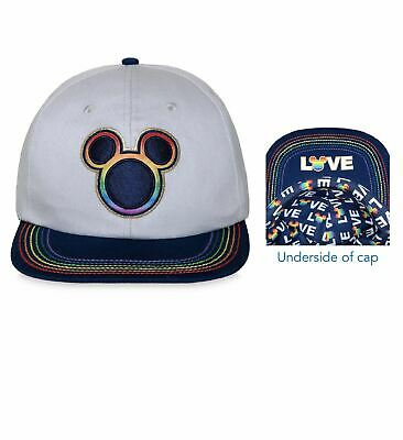 61c733ae15df7 Rainbow Mickey Mouse Collection Snapback Baseball Cap Hat - Love -  Embroidered