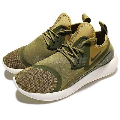 best service dc3d9 002a5 Nike Lunarcharge Essential Camper Green Men Running Shoes Sneakers 923619 -300