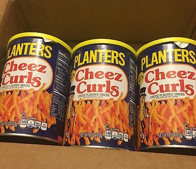 3 Pack: Planters Cheez Curls New edition 2018! New! Cheese!