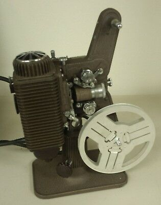 Vintage Revere Model P85 8mm Movie Projector in case steampunk style eight 8 mm