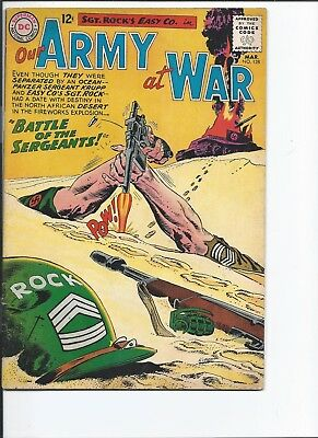 Our Army at War #128 (March 1963)