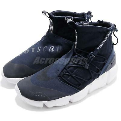 60d99c41fe1e4e Nike Air Footscape Mid Utility Tokyo Obsidian Blue NSW Men Shoes 924455-400
