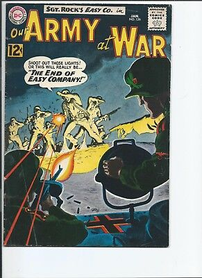 Our Army at War #126 (Jan 1963)