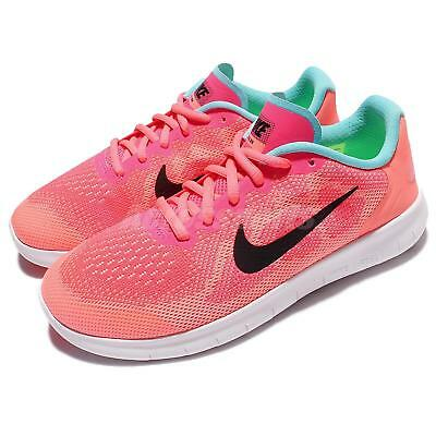 Nike Nike Free RN 2017 GS Pink Kids Girls Boys Running Shoes Sneakers  904258-600 9a5113b9cba