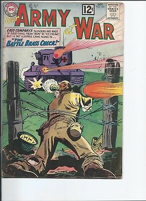 Our Army at War #123 (Oct 1962)