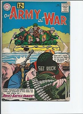 Our Army at War #115 (Feb 1962)