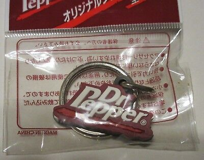 Foreign Asian Dr Pepper Key Chain