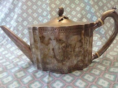 Georgian III Sterling Silver Teapot