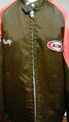 Rare vintage A&W root beer restaurant EMPLOYEE issued jacket 60's 70's SWINGSTER