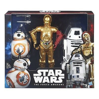 Hasbro Star Wars The Force Awakens Droid Pack C-3PO BB-8 and RO-4LO Special Coll