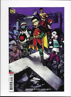 TEEN TITANS #20 AUG 2018 Shirahama Variant 1st Full Crush DC Comics