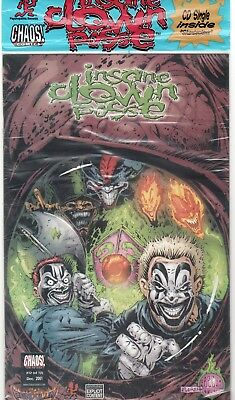 CHAOS! Comics ICP Insane Clown Posse: The Pendulum #12 VARIANT NM Sealed with CD
