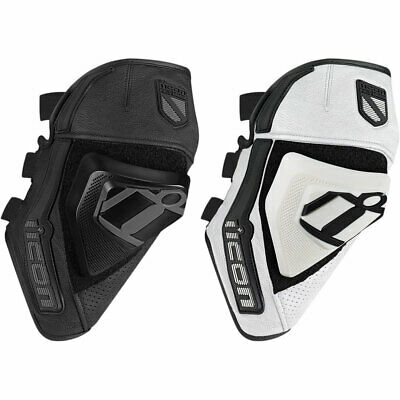 2018 Icon Cloverleaf Knee Protection D30 Motorcycle Knee Guard - Pick Size/Color