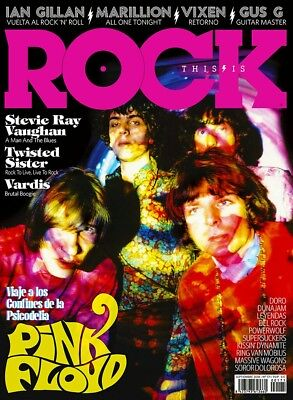 This is Rock Magazine Spain Issue 171 - September 2018 - PINK FLOYD - DORO