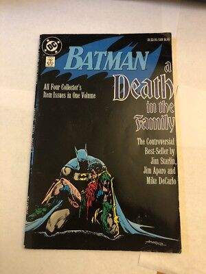 DC Batman A Death in the Family Collector's Volume Comic Book (1st Print TPB)