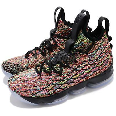 31c30a477632 Nike Lebron XV EP 15 Four Horsemen James Black Fruity Pebbles Men AO1754-901