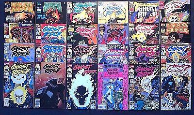 Huge Ghost Rider Lot!!  Volume 2, What If.., and more!!  21 total issues, Marvel