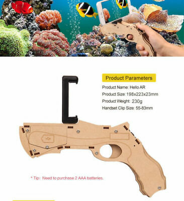 830aaa94312b AR Game Gun Augmented Reality Bluetooth Control Toy For Smart Phone Kidss  Adult