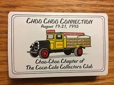 1993 Coca Cola Coke Playing Cards from Choo Choo Connection Factory Sealed NIP