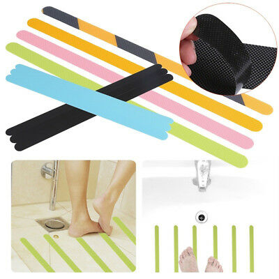 HK- 12Pcs Bathroom Bathtub Safety Anti-skid Anti Slip Tape Sticker Self-Adhesive