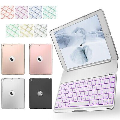 Folio Bluetooth Keyboard Smart Case Stand Cover For iPad 9.7 5th/6th Generation