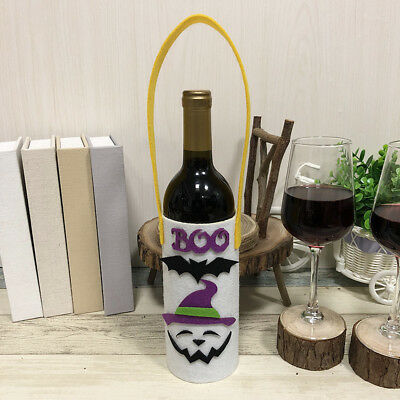 Wine Bottle Bags Portable Lovely Wine Bottle Tote Bags Holders Party Supplies