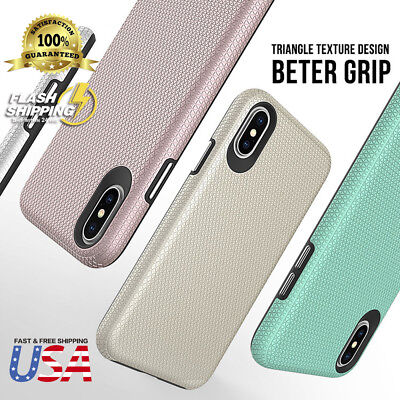 Fits Apple iPhone Case Hybrid Shockproof Hard Rugged Dual Layer Protective Cover