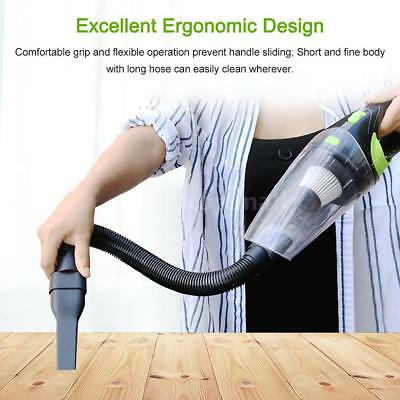 Car Wireless Vacuum Cleaner Cordless Wet/Dry 120W 4000Pa Suction Hand-held S0O6