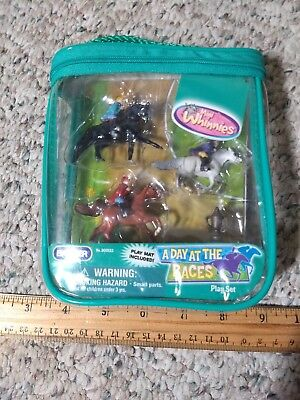 Breyer No. 300133 A Day The Races Mini Whinnies Play Set 2007
