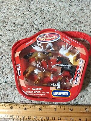 Breyer No. 720201 6 Pintos Mini Whinnies Play Set 2007 never removed from box