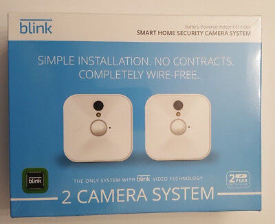 Blink Indoor Home Security Camera System with Motion Detection HD Video