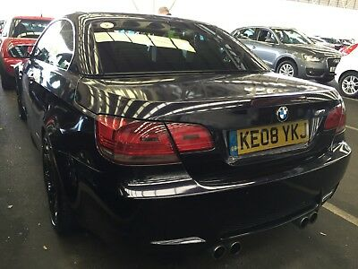 08 Bmw M3 4.0 V8 Coupe Dct Auto Convertible Wrapped In Met Purple Nav Etc