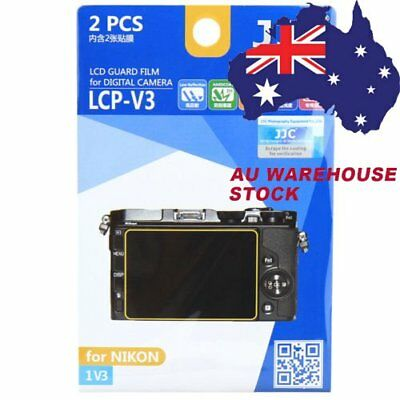 JJC LCP-V3 LCD Guard Film Camera Screen Display Protector for NIKON 1 V3
