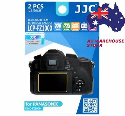 JJC LCP-FZ1000 LCD Guard Film Camera Screen Protector for Panasonic FZ1000