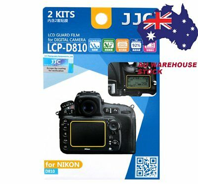 JJC LCP-D810 LCD Film Camera Screen Display Protector for NIKON D810 Guard Film