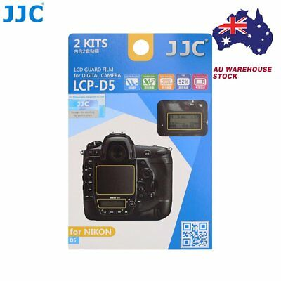 JJC LCP-D5 LCD Guard Film Camera Screen Display Protector for NIKON D5 DSLR