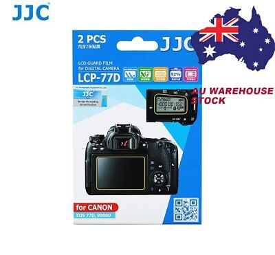 JJC LCP-77D LCD Screen Protector Protection Guard Film for CANON EOS 77D 9000D