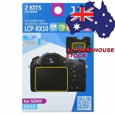 JJC LCP-RX10 LCD Guard Film Camera Screen Display Protector for SONY RX10 M2 II