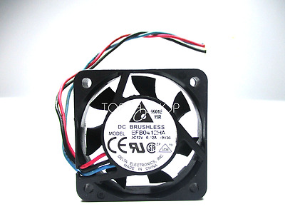 Delta EFB0412HA Dual ball bearing cooling fan DC12V 0.12A 40*40*10mm 3wire